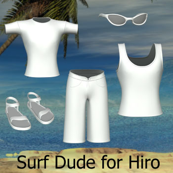 Hiro Surf Dude Clothing